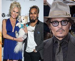 """Iwona Burnat i Reggie Benjamin porównali się do... Nicole Kidman i Johnny'ego Deppa. Fani: """"NO MOŻNA SIĘ POMYLIĆ"""" (FOTO)"""