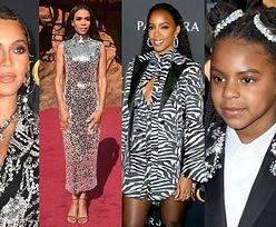 """Beyonce z Blue Ivy, Kelly Rowland z synkiem i Michelle Williams pozują na światowej premierze """"Króla Lwa"""" (ZDJĘCIA)"""