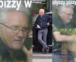 Głodny Jarosław Kret zaparkował na zakazie i poszedł zjeść pizzę (ZDJĘCIA)