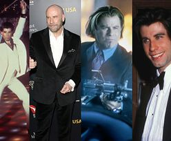 Legenda filmu, ekranowy macho i bohater nieustannych kontrowersji. John Travolta kończy 65 lat (ZDJĘCIA)