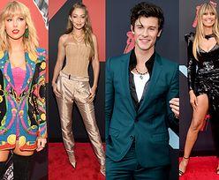 MTV VMA 2019: Gwiazdy pozują na czerwonym dywanie: Taylor Swift, Gigi Hadid, Bella Hadid, Heidi Klum, Adriana Lima... (ZDJĘCIA)