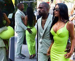 Kanye w sandałach i skarpetach MACA ŻONĘ po odblaskowej pupie. Stylowi? (ZDJĘCIA)