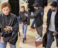 Zadowolona Natalia Szroeder oddaje się zakupom w towarzystwie ponurego Quebonafide (ZDJĘCIA)