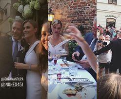 Ślub Joanny Krupy: pocałunki zakochanych, picie bimbru i zdjęcie sprzed ołtarza (ZDJĘCIA)