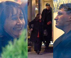 Zakochani Mariola i Andrzej Gołota wybrali się do restauracji (ZDJĘCIA)