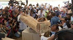 Egipcjanie otworzyli trumnę sprzed 2,5 tys. lat