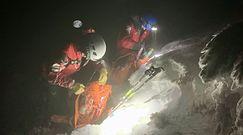 Kolejna akcja ratowników w Tatrach. TOPR ostrzega przed warunkami w górach