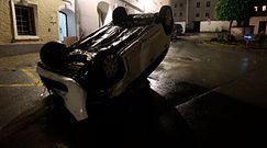 Powódź w Austrii. Dramatyczne nagranie z Hallein