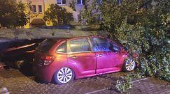 Potężna nawałnica w Płocku. Straż opublikowała dramatyczne zdjęcia z akcji
