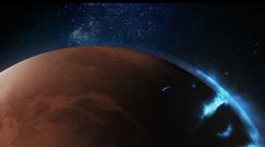 Takiego zdjęcia jeszcze nie było. Orbiter Hope uchwycił zorzę na Marsie