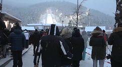 Tłumy turystów w Zakopanem