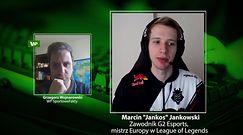 """Esport. Co z mistrzostwami świata League of Legends? Marcin """"Jankos"""" Jankowski mówi o scenariuszach"""