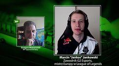 """Esport. Marcin """"Jankos"""" Jankowski dostaje zaproszenia na randki podczas gry. """"To dziwne"""""""