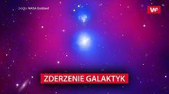 Potężna kolizja galaktyk