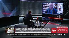 Koronawirus w Polsce. Prof. Krzysztof Simon o Bożym Narodzeniu: Wigilia nie jest najważniejsza