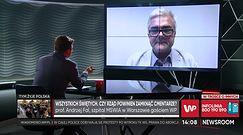 """Koronawirus. Prof. Andrzej Fal o zamknięciu cmentarzy i """"zdalnym Bożym Narodzeniu"""""""