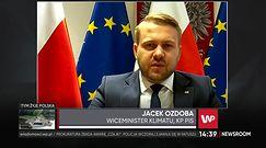 """Mikołaj Pawlak wzięty pod obronę wiceministra Jacka Ozdoby. """"Walczy o prawa najmłodszych"""""""