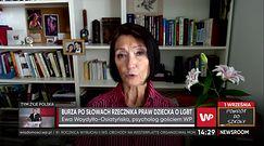 """LGBT wśród młodzieży szkolnej. Dr Ewa Woydyłło-Osiatyńska: """"dzieci narażone są na ostracyzm"""""""