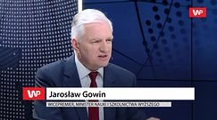 """Jarosław Gowin broni rządzących. """"Nie jesteśmy bad boyem UE"""""""