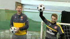 #dziejesiewsporcie: niecodzienni goście w Arsenalu. Zobacz, co wyprawiali z piłkarzami