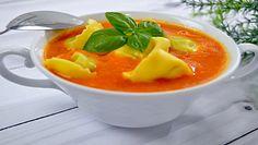 Zupa pomidorowa z tortellini. Jak zrobić aromatyczny krem
