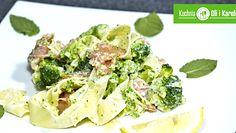Pappardelle z łososiem i brokułami. Smaczny i prosty sposób na makaron