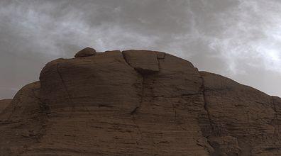 Chmury na Marsie. Łazik Curiosity uchwycił coś rzadkiego i niezwykłego