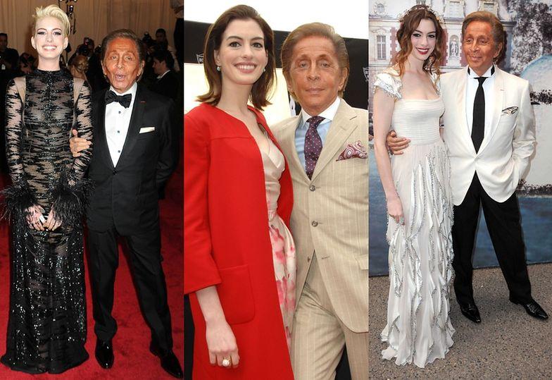 Anne Hathaway i Valentino Garavani