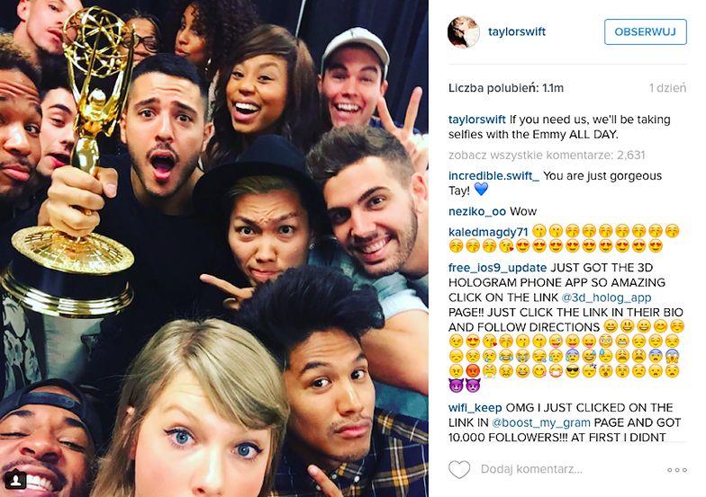 Taylor Swift: Emmy 2015