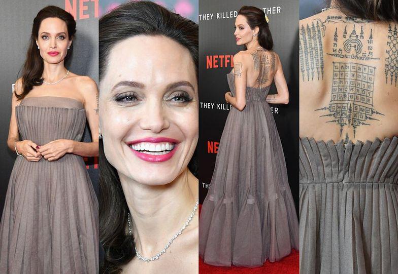 Angelina Jolie promuje film w Nowym Jorku