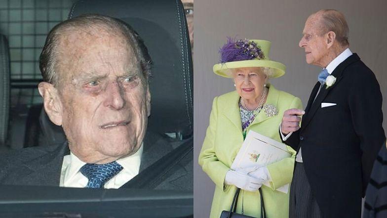 98-letni książę Filip trafił do szpitala.