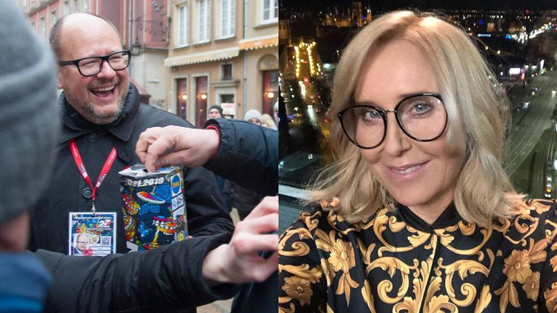 """WOŚP 2020. Agata Młynarska wspiera Orkiestrę z bratem Pawła Adamowicza: """"Dziś pokazujemy, że nic nie pokona WOŚP"""""""