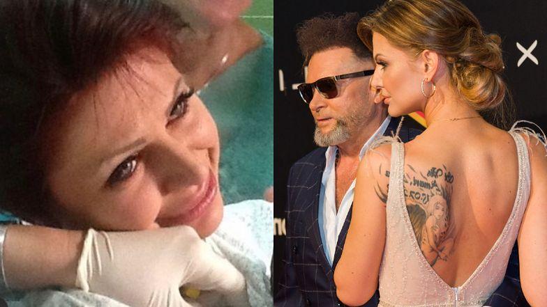 """Maja Rutkowski prezentuje efekty NIEUDANEGO ZABIEGU usunięcia tatuażu: """"To był straszny ból. Myślałam, że mam zawał serca"""" (MOCNE ZDJĘCIA)"""