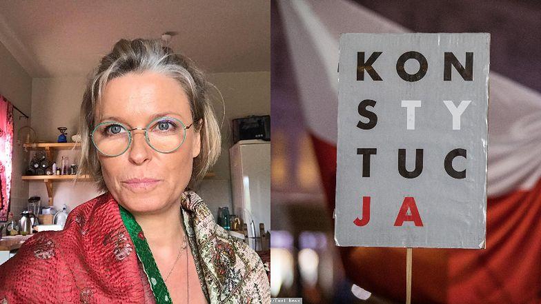 """Paulina Młynarska oburzona postawą parlamentarzystów: """"To ludzie PROTESTUJĄ NA ULICACH, a was nie stać, żeby, biorąc pensje poselskie, być na takim głosowaniu?"""""""