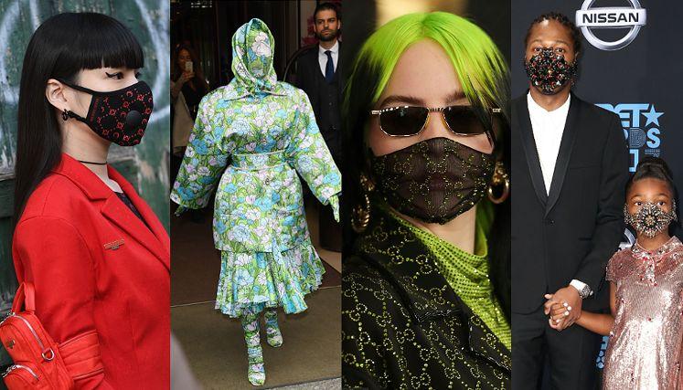 Luksusowe maski
