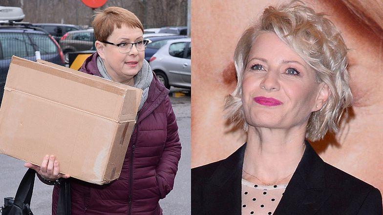 """Bezwzględna Ilona Łepkowska rozprawia się z ruchem #MeToo i kartonowym zgonem Hanki Mostowiak?! """"Jeśli aktor jest NIELOJALNY, wtedy ginie mało efektownie"""""""