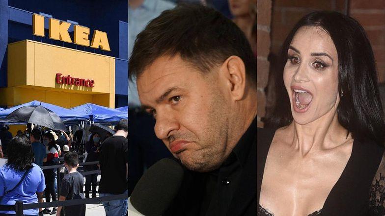 """IKEA komentuje WYRZUCENIE buńczucznego Tomasza Karolaka ze sklepu: """"Zdrowie naszych pracowników i klientów traktujemy PRIORYTETOWO"""""""