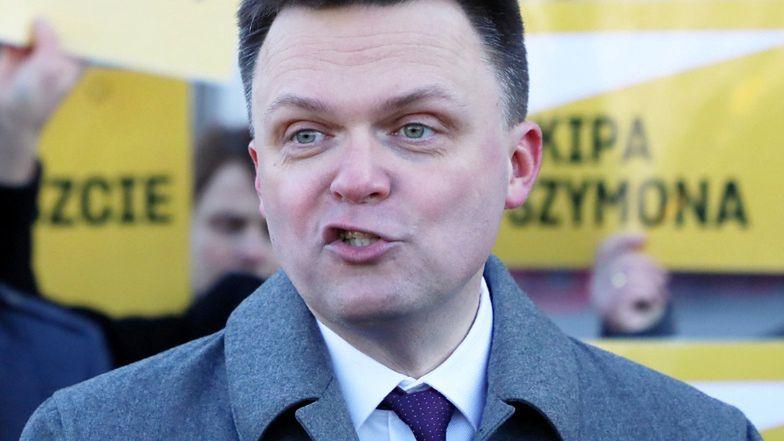 """Szymon Hołownia TŁUMACZY SIĘ ze spotu wyborczego: """"Nie zauważyłem tego nieszczęsnego papierowego samolotu"""""""