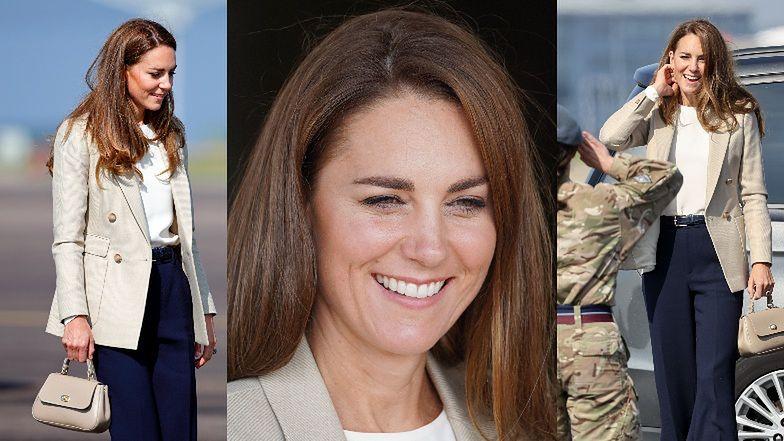 Promienna księżna Kate wraca do pełnienia oficjalnych obowiązków po trzech miesiącach wakacji (ZDJĘCIA)