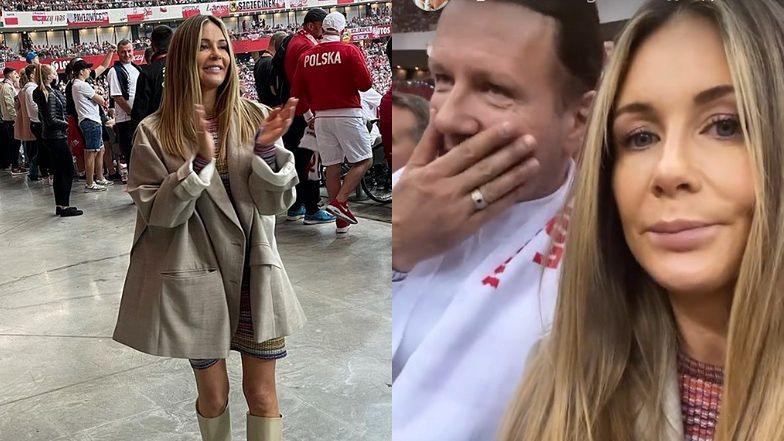 """Internauci MIAŻDŻĄ stadionową stylizację Małgorzaty Rozenek: """"Szpecisz się ubiorem"""""""