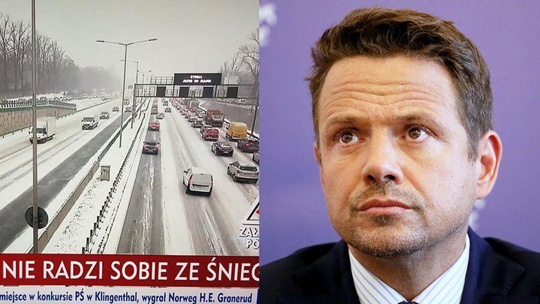 """TVP Info atakuje Rafała Trzaskowskiego: """"NIE RADZI SOBIE ZE ŚNIEGIEM"""". Rafał odpowiedział..."""