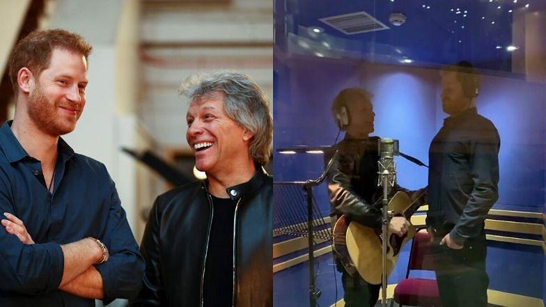 Harry NAGRAŁ PIOSENKĘ z Jonem Bon Jovim! Będzie hit?