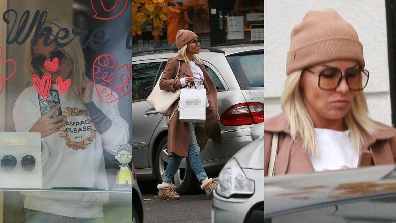 Celebrytka pojechała aż do Gdyni, by zaopatrzyć się w modne modele okularów.
