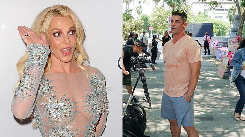 """Były mąż Britney Spears pojawił się na proteście ruchu #FreeBritney! """"Ona jest WIĘŹNIEM"""""""