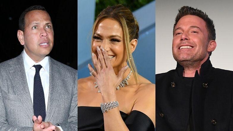 Alex Rodrigez jest ZSZOKOWANY związkiem Jennifer Lopez i Bena Afflecka!
