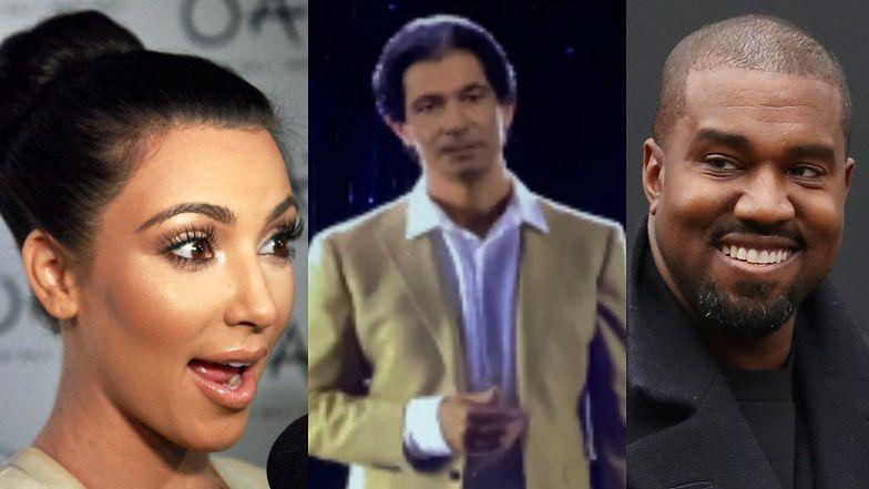 """Kanye West podarował Kim Kardashian HOLOGRAM jej zmarłego ojca: """"Specjalna NIESPODZIANKA Z NIEBA"""""""