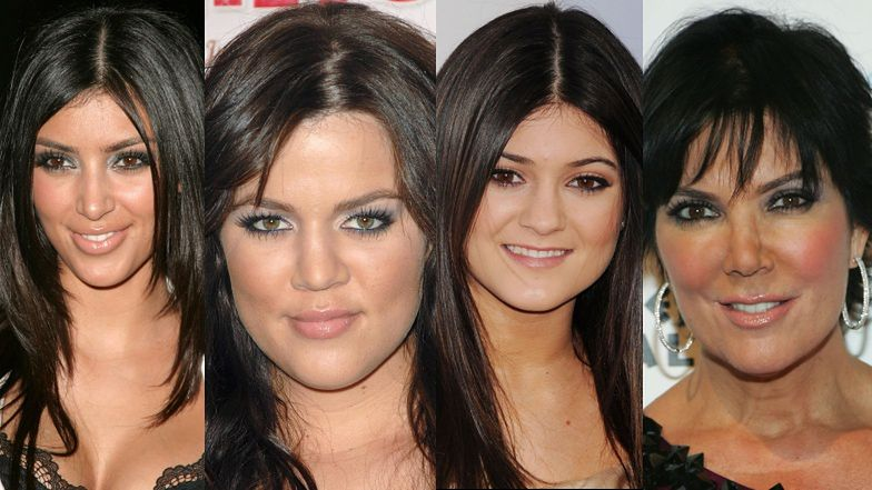 """Koniec show Kardashianów! Zobaczcie, jak przez 20 sezonów zmieniały się słynne siostry i ich """"momager"""""""