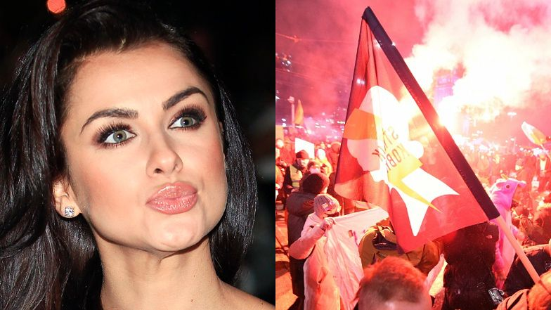 """Natalia Siwiec tłumaczy """"fance"""", dlaczego NIE ZABIERA głosu ws. Strajku Kobiet:  """"ODCIĘŁAM SIĘ! Nie wiem, co się dzieje"""""""