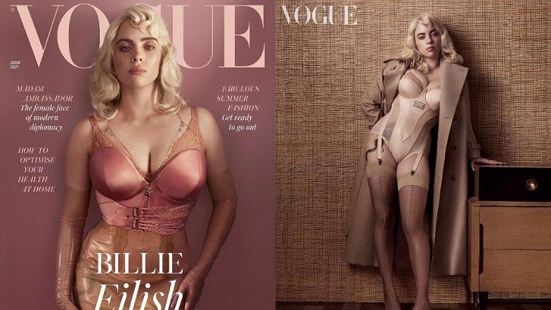 """Billie Eilish zaskakuje i ZACHWYCA w odważnej sesji dla brytyjskiego """"Vogue'a"""" (ZDJĘCIA)"""