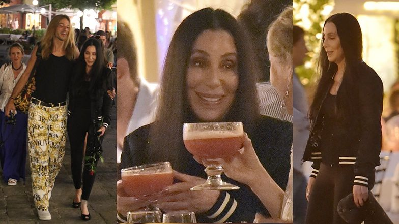 75-letnia Cher korzysta z życia na wakacjach we Włoszech (ZDJĘCIA)